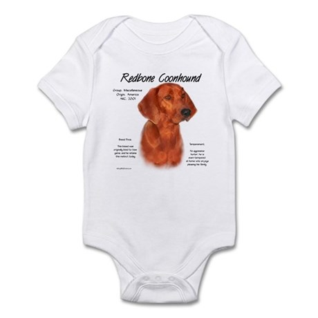 Redbone Coonhound Infant Creeper
