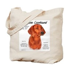 Redbone Coonhound Tote Bag