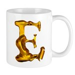 Blown Gold E Mug