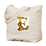 Blown Gold E Tote Bag