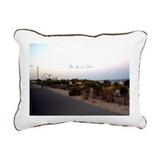 Seaside NJ Canvas Pillow