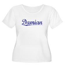 Damian, Blue, Aged T-Shirt