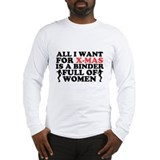 Binder Of Women Long Sleeve T-Shirt
