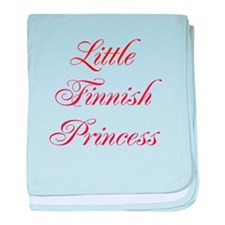 Little Finnish Princess baby blanket