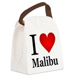 ilovemalibu.png Canvas Lunch Bag