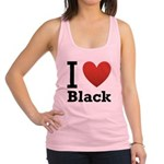 i-love-black-darkkkk-tee.png Racerback Tank Top