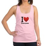 ihearteveryone.png Racerback Tank Top