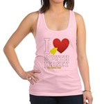 I love South Jersey Racerback Tank Top
