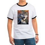 Awesome Gray Wolf T
