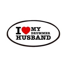 I love my Drummer husband Patches