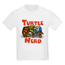 Kids Turtle Nerd T-Shirt