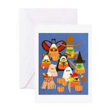 Candy Corn Greeting Card