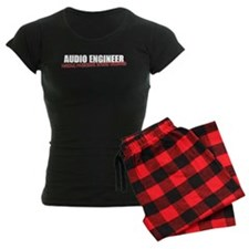 Audio Engineer Women's Pajamas (dark)