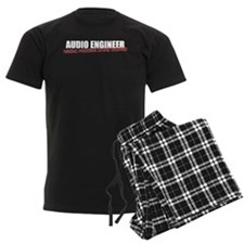 Audio Engineer Men's Pajamas (dark)