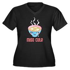 Miso Cute Plus Size T-Shirt
