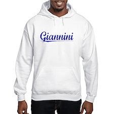 Giannini, Blue, Aged Hoodie
