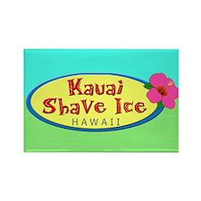 Kauai Shave Ice Logo Magnet