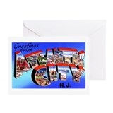 Atlantic City New Jersey Greeting Card