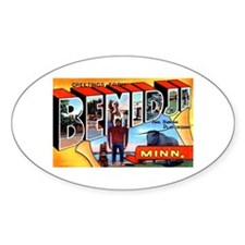 Bemidji Minnesota Greetings Decal