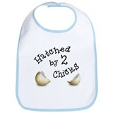 Hatched by Two Chicks Bib
