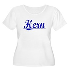 Hern, Blue, Aged T-Shirt