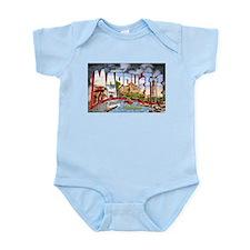 Marquette Michigan Greetings Infant Bodysuit