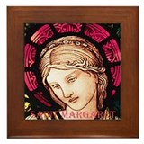 St Margaret Framed Tile
