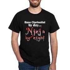 Bass Clarinet Ninja T-Shirt