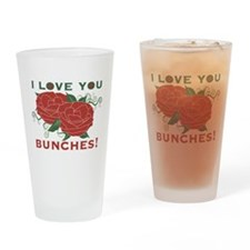 Love You Bunches! Drinking Glass