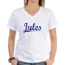 Jules, Blue, Aged Shirt