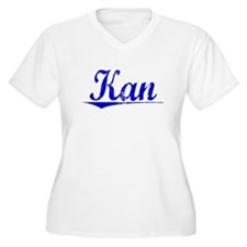 Kan, Blue, Aged T-Shirt