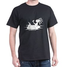 Kokopelli Tuber Black T-Shirt
