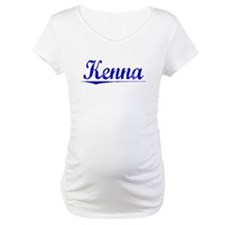 Kenna, Blue, Aged Shirt