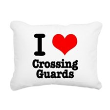 crossing guards.png Rectangular Canvas Pillow