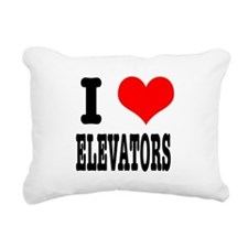 ELEVATORS.png Rectangular Canvas Pillow