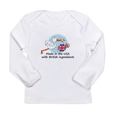 Stork Baby UK USA Long Sleeve T-Shirt