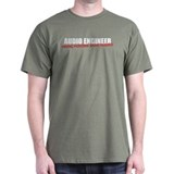 Audio Engineer T-Shirt (men's dark)