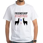 Friendship White T-Shirt