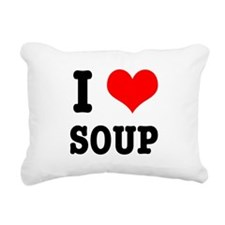 SOUP.png Rectangular Canvas Pillow