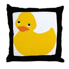 Yellow Duckie Throw Pillow