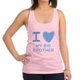 big brother boy.png Racerback Tank Top