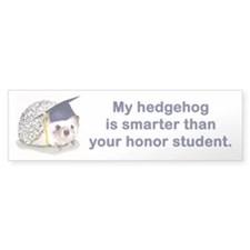 Honor Student Bumper Bumper Sticker