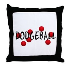 DODGEBALL2.jpg Throw Pillow