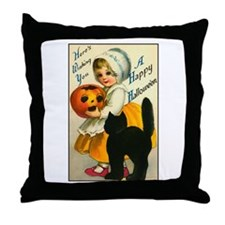 Halloween Cutie Throw Pillow