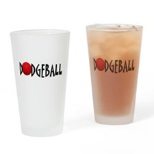 DODGEBALL1.jpg Drinking Glass