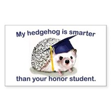 Honor Student Rectangle Decal