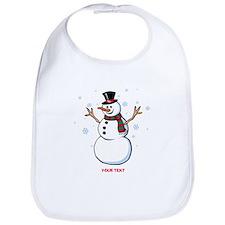 Custom Snowman Bib