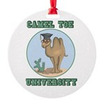 camel toe university copy.png Round Ornament