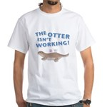 Otter White T-Shirt