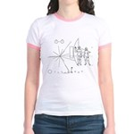 Pioneer Plaque Jr. Ringer T-Shirt